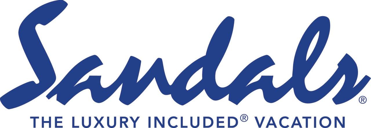 Sandals Logo Royal (LIV)