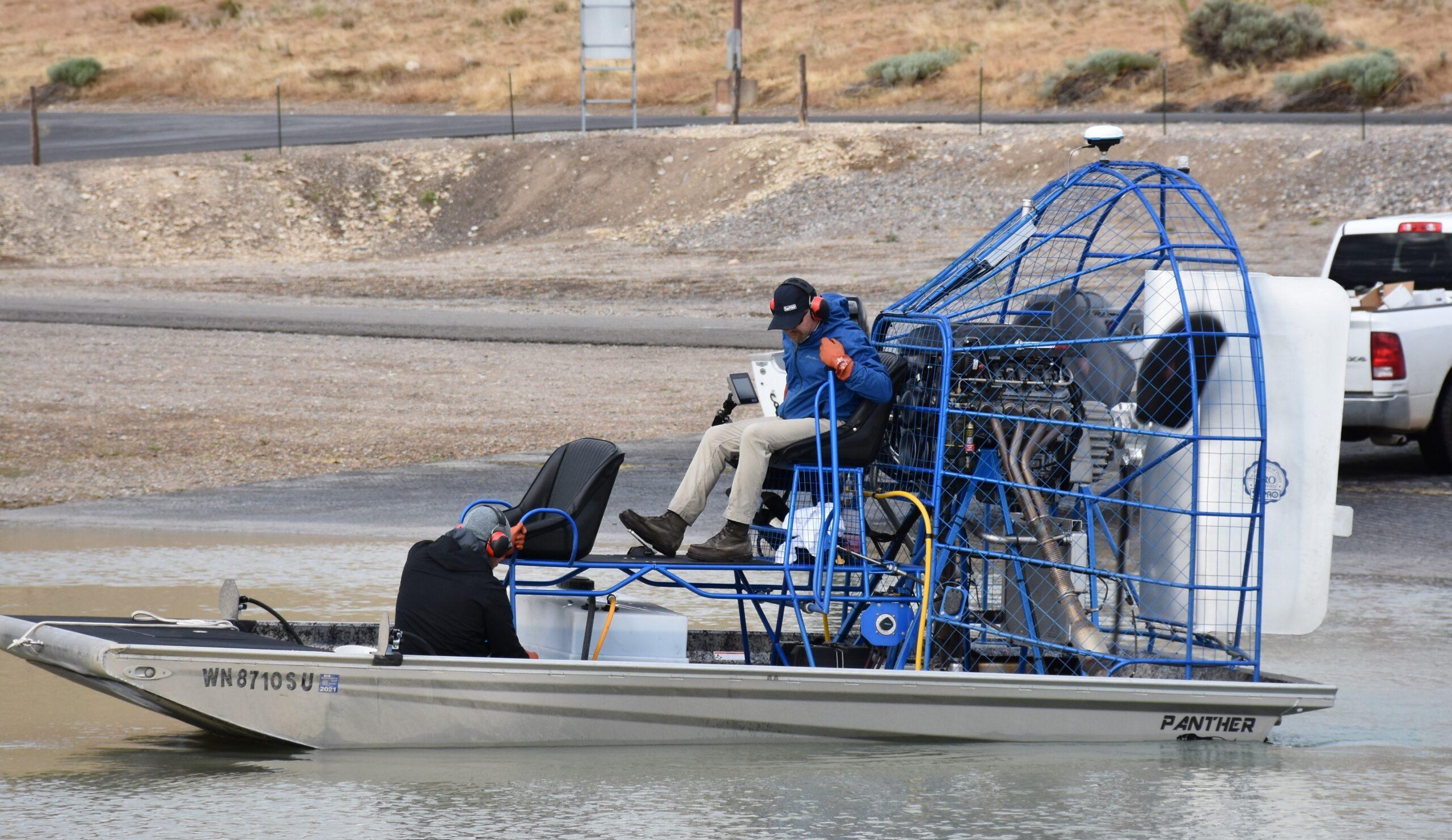 Marina Algae Treatments Start at Utah Lake