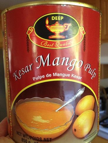 Kesar Mango Pulp for Mango Pudding