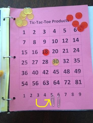 Tic Tac Toe Products Move 2