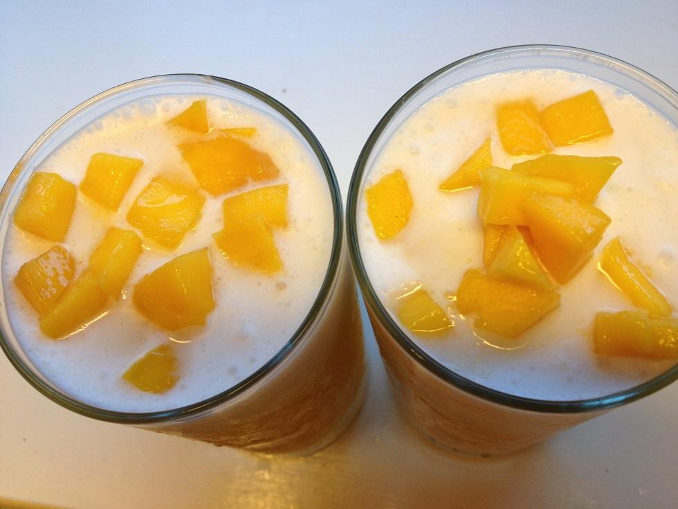 YUMMY mango coconut drink