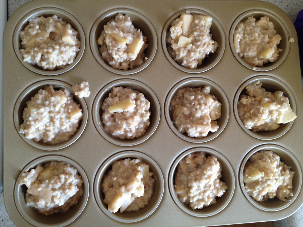 Make Ahead Apple Cinnamon Steelcut Oatmeal Recipe (7)