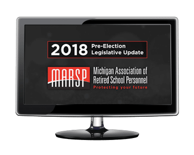 2018 Pre-Election Legislative Update