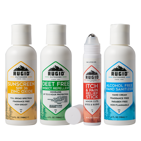 rugid line of skin protection products