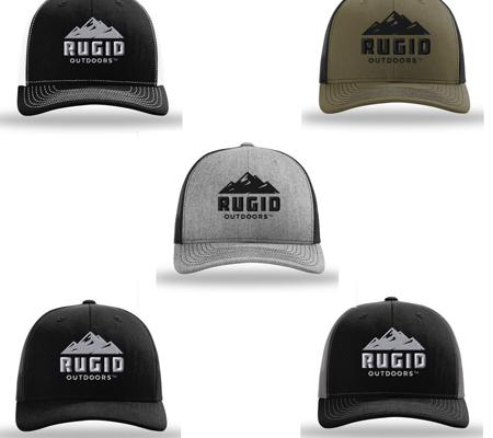 rugid trucker hats - multiple color options