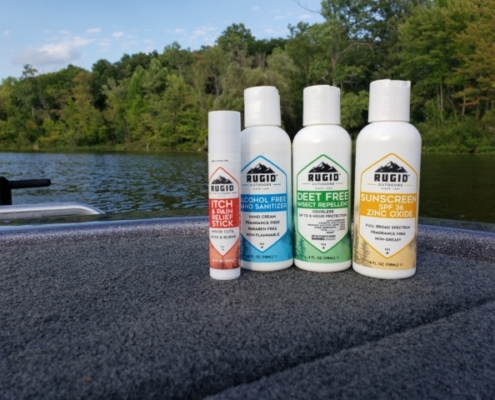 rugid products on a boat
