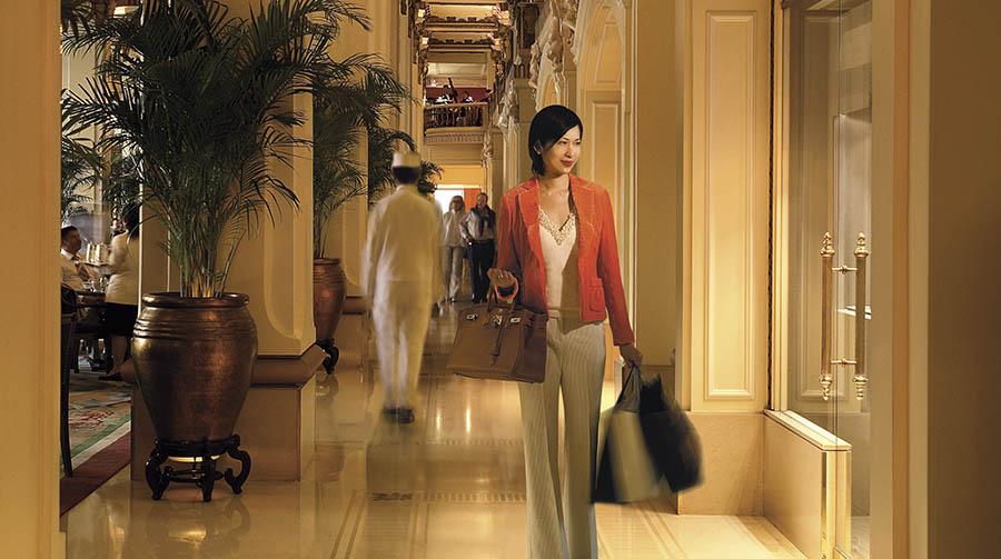 The Hotel Lobby. Photo: Peninsula Hotels