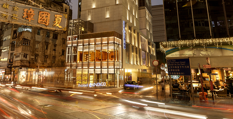 Located in the famous Wan Chai District. Photo: Hotel Indigo Hong Kong