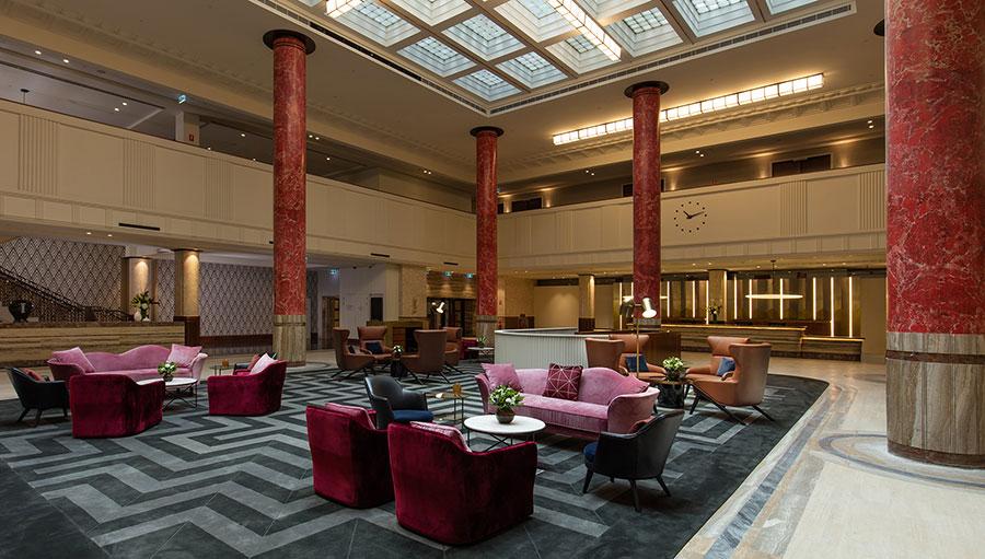 Lobby at the Primus Hotel Sydney
