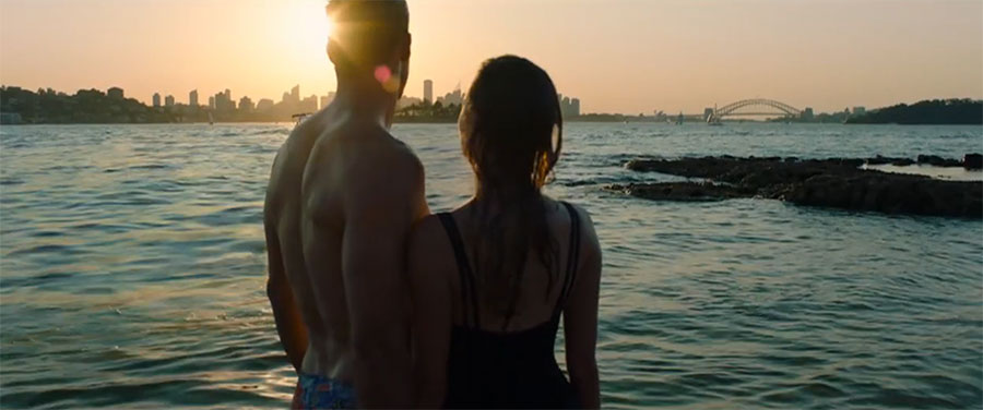 A scene from Tourism Australia's new video.