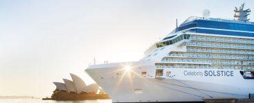 Celebrity Solstice in Sydney Harbour. Source: Celebrity Cruises