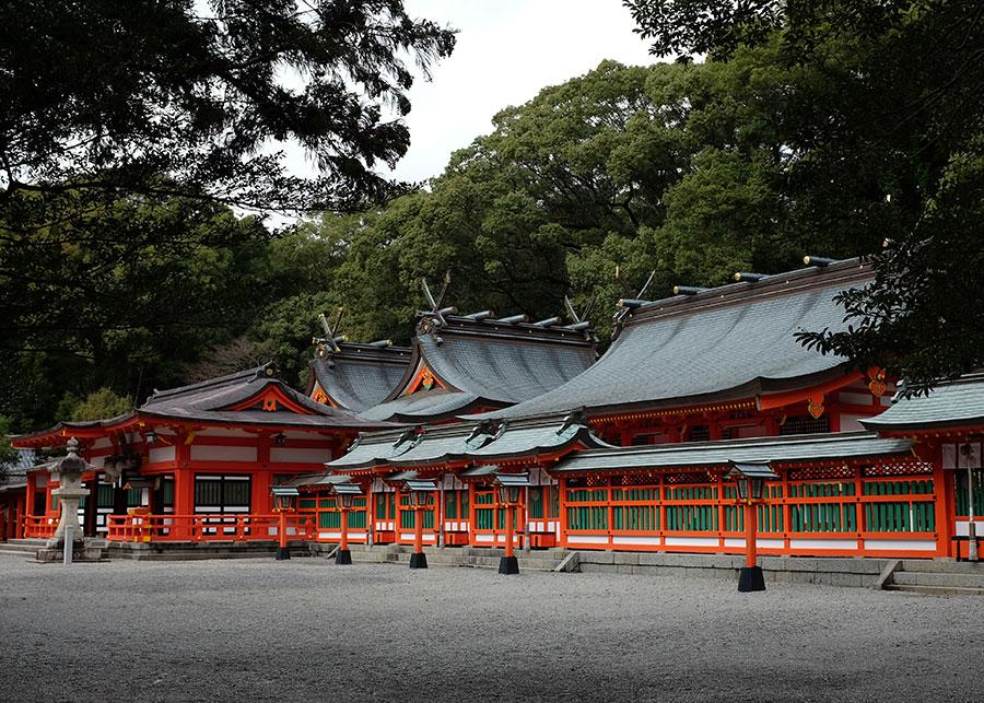 The grounds of Kumano Hayatama Taisha