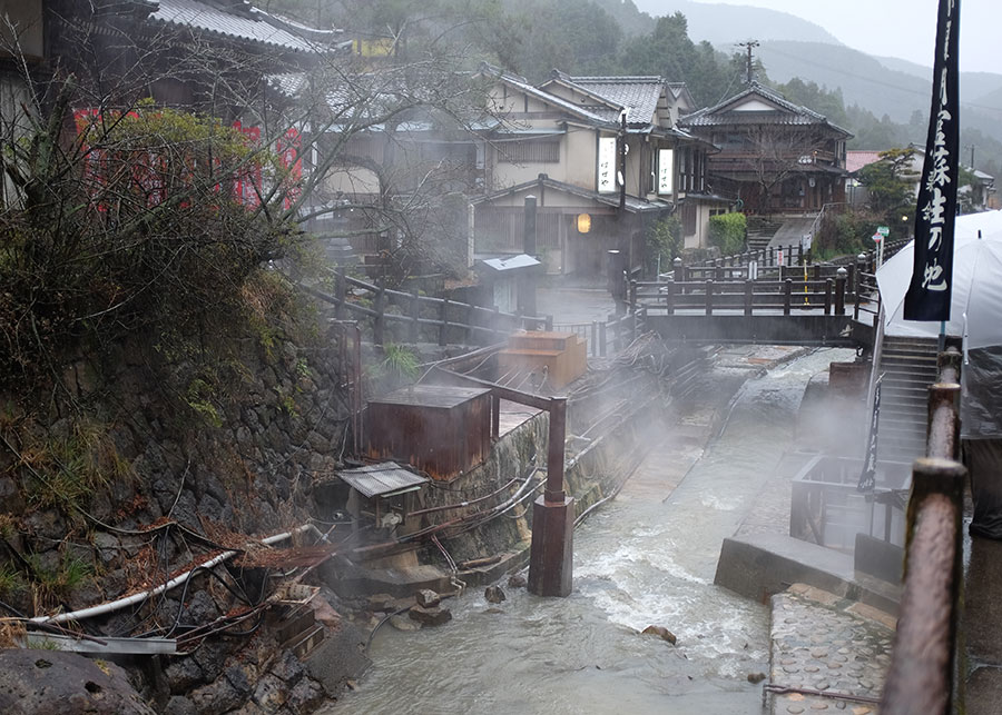 Yunomine onsen village, a must-visit destination for travellers wanting to relax in Japan's famous hot springs