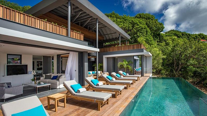 Caribbean villa. Credit: OneFineStay