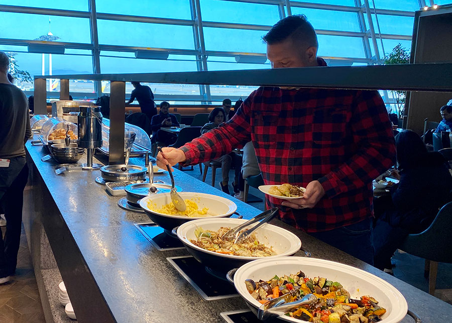 Seoul Incheon Asiana Lounge, East. Credit: Chris Ashton