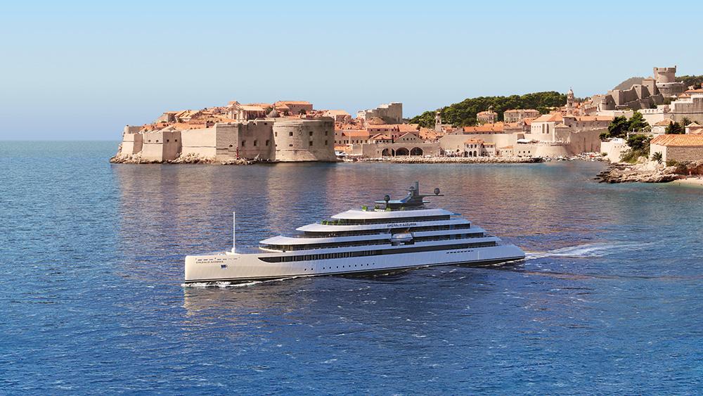 The Emerald Azzurra. Credit: Evergreen Cruises & Tours