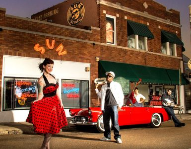 Sun Studio on Union Ave. Credit: Memphis Tourism / Justin Fox Burks