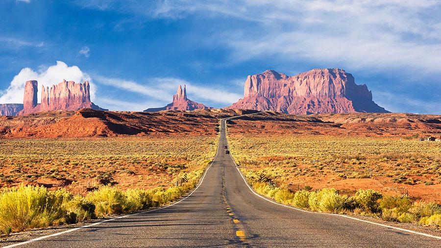 Monument Valley on the Arizona-Utah border. Image: Supplied