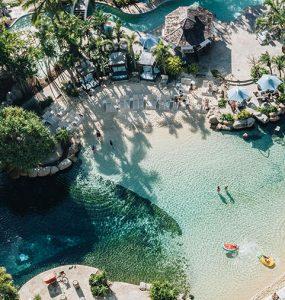JW Marriott Gold Coast Resort & Spa lagoon pool. Image: Supplied