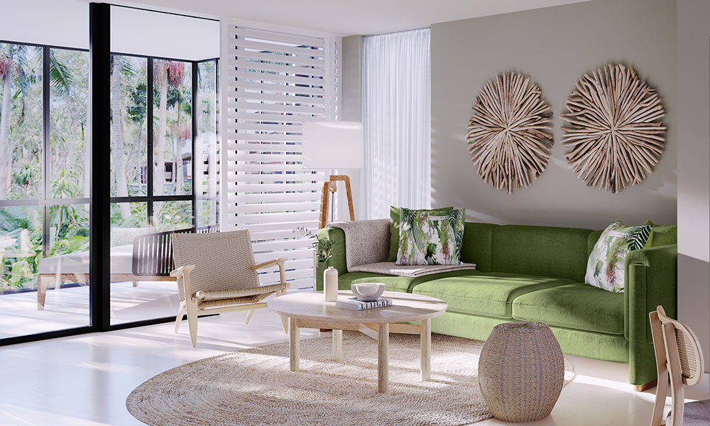 A render of the refreshed room interiors. Credit: Crystalbrook Collection