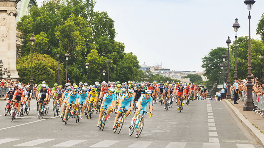 Tour de France, the world's greatest cycling event. Supplied.