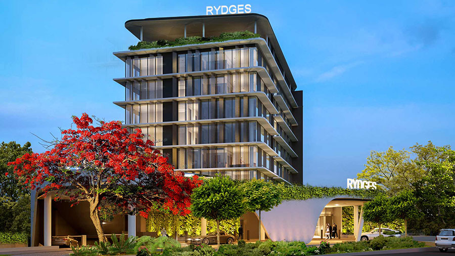 Artists render of the Rydges Gold Coast Airport