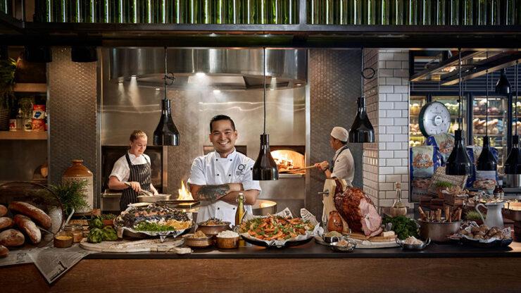 Bazaar Restaurant, QT Gold Coast