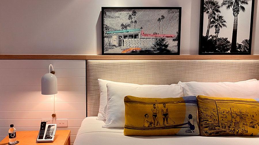 QT Gold Coast Suite bedroom