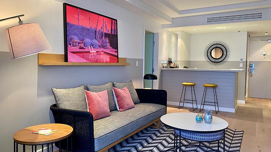 QT Gold Coast Suite interior