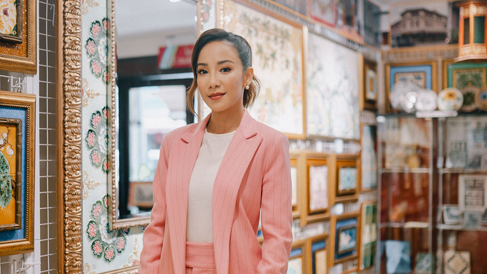 Crazy Rich Asians star Fiona Xie. Credit: Supplied