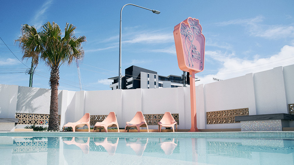 Mysa Motel Palm Beach. Credit: Supplied