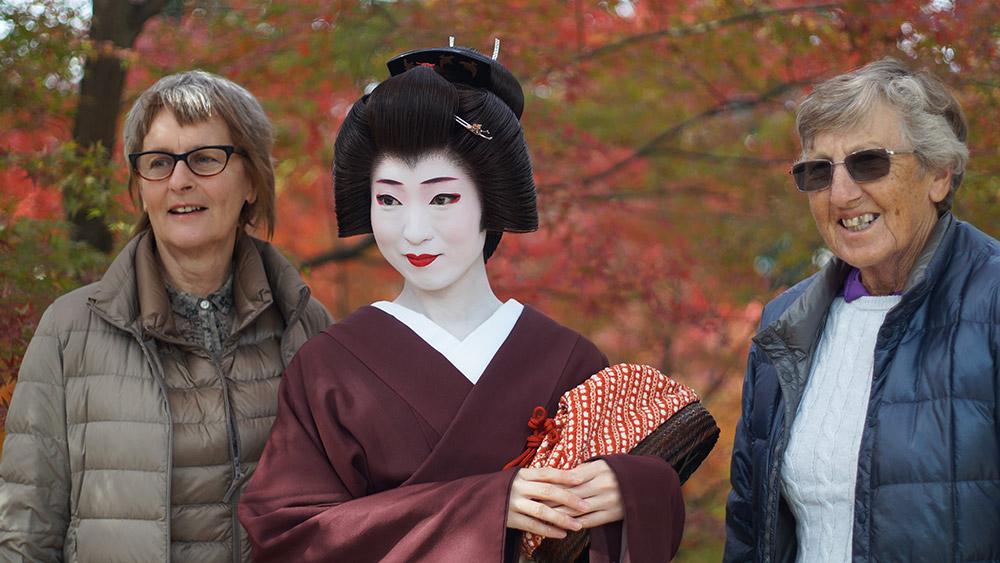 An Intimate Afternoon with a Geisha. Credit: Jam Jar Lounge & Inn