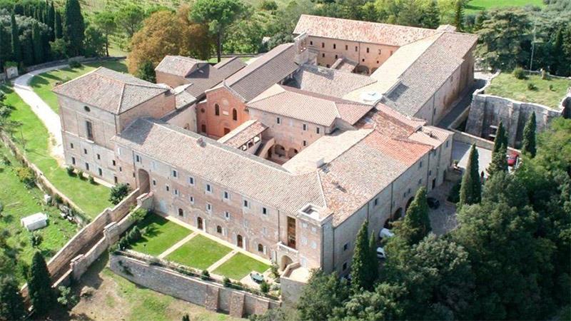 Casa Monteripido, Perugia. Credit: monasteries.com