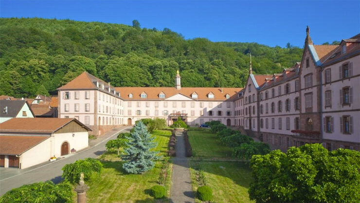 Hotellerie du Couvent, Oberbronn, France. Credit: monasteries.com