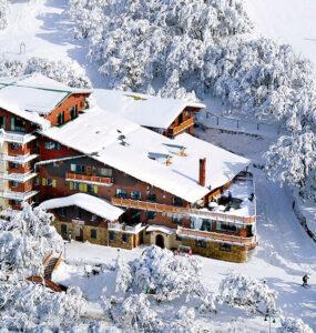 Pension Grimus in Mt Buller. Credit: Pension Grimus
