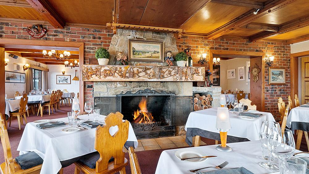 Kaptans Restaurant at Pension Grimus. Credit: Pension Grimus