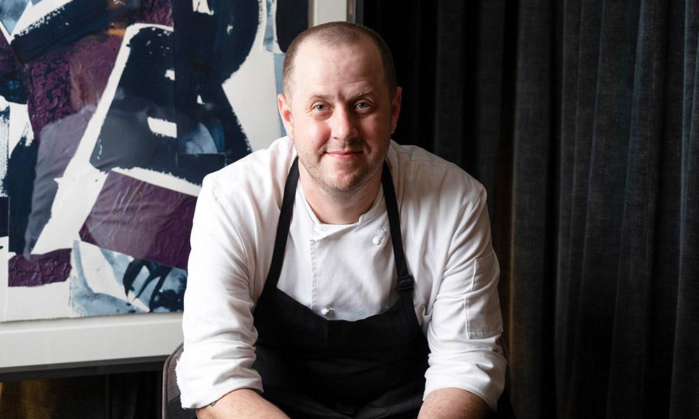 Chef Matthew Kirkley of BELON. Credit: BELON.