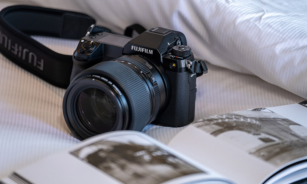 The FUJIFILM GFX100S. Supplied.