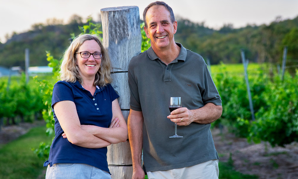 Lisa and Steve Messiter. Credit: Steve Anderson / Girraween Estate