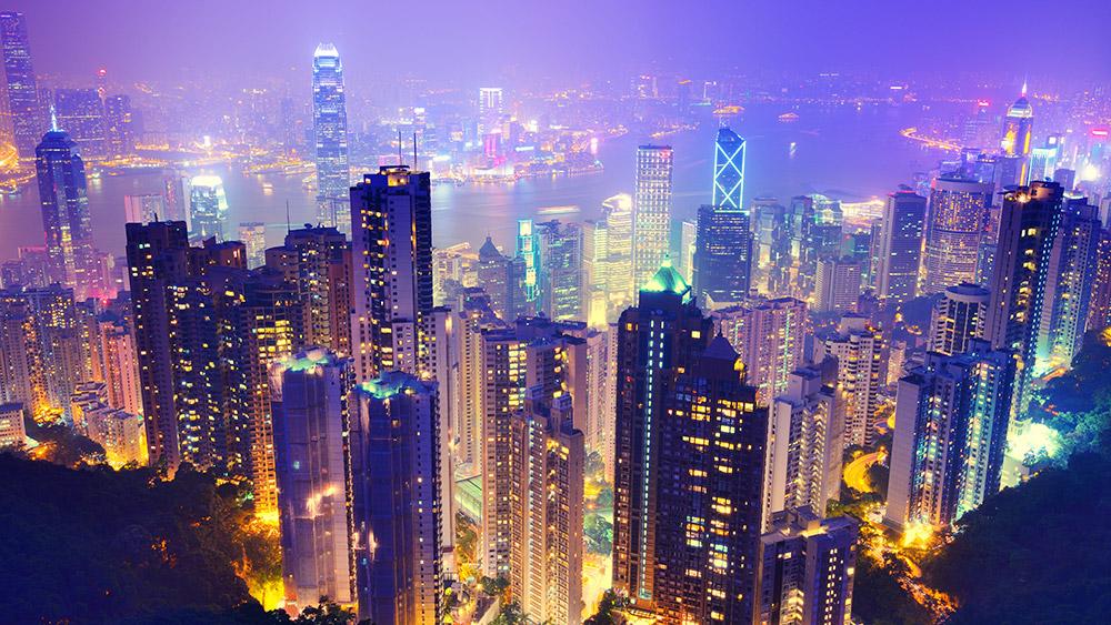 Hong Kong viewed from Victoria Peak