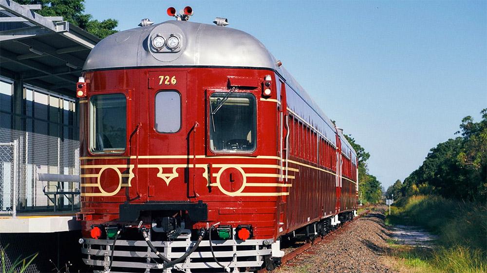 The Byron Bay solar train. Credit: Byron Solar Train