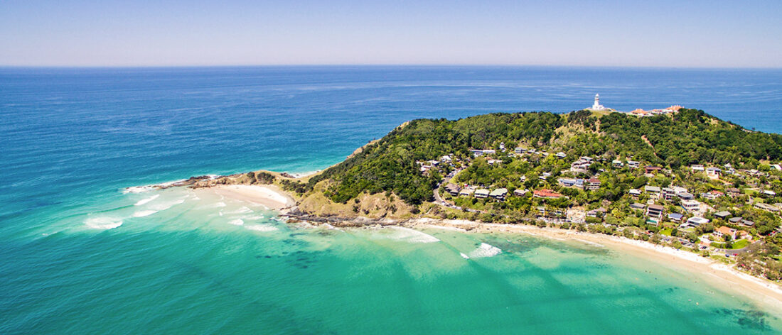 Cape Byron, Australia's most easterly point
