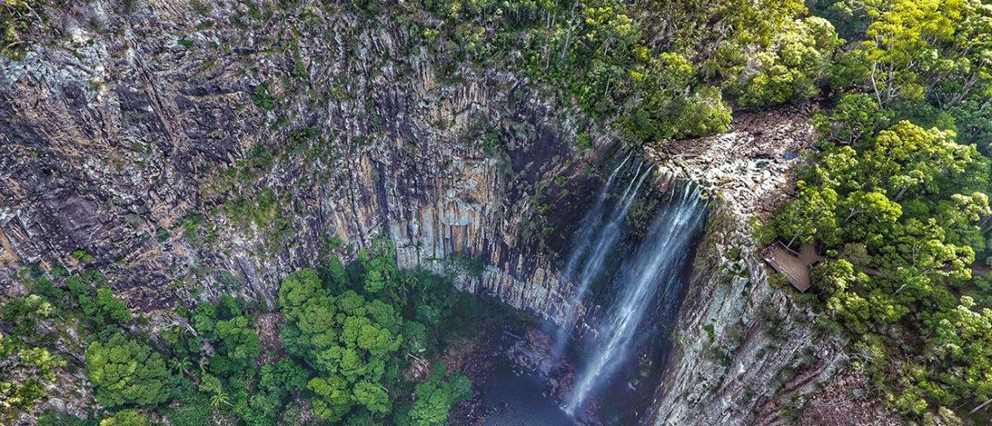 Minyon Falls. Nightcap National Park