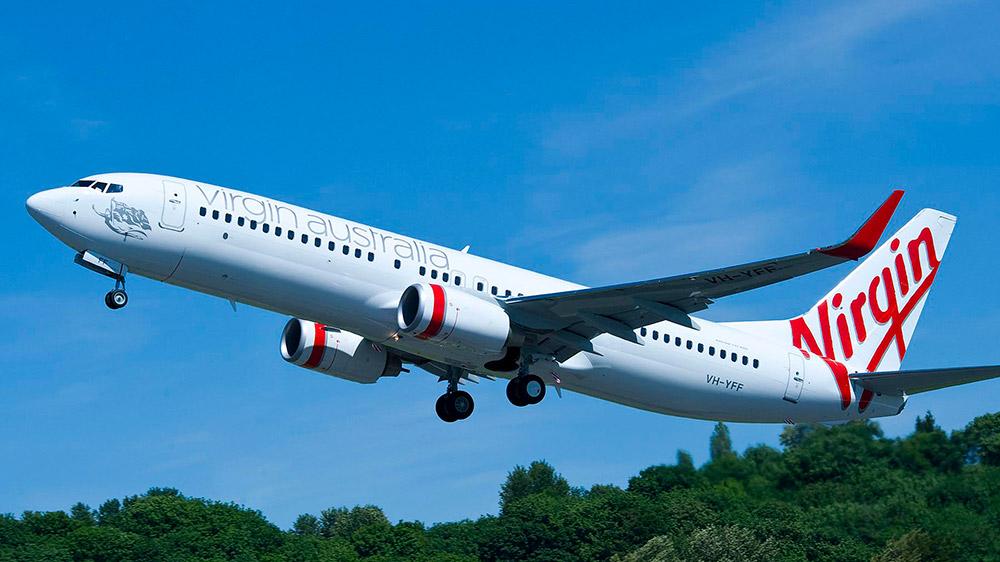 Virgin Australia 373-800. Supplied.