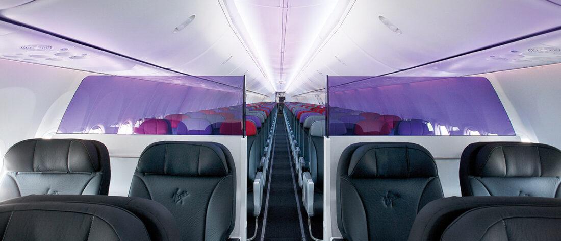 Virgin Australia 737-800 Business Class. Supplied.