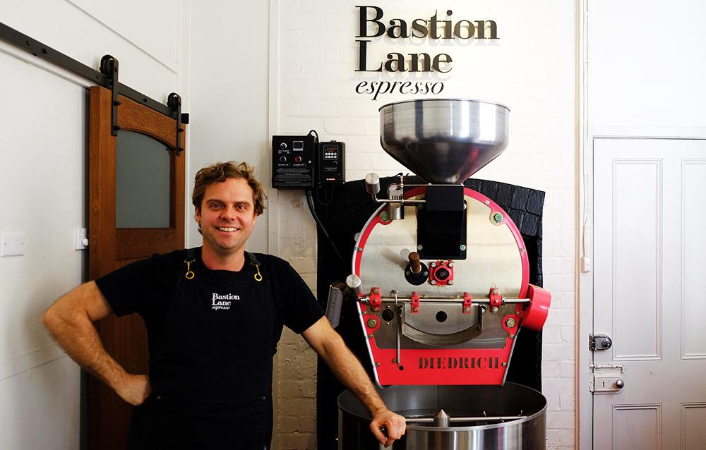 Gary Wall from Bastion Lane Espresso in Uki