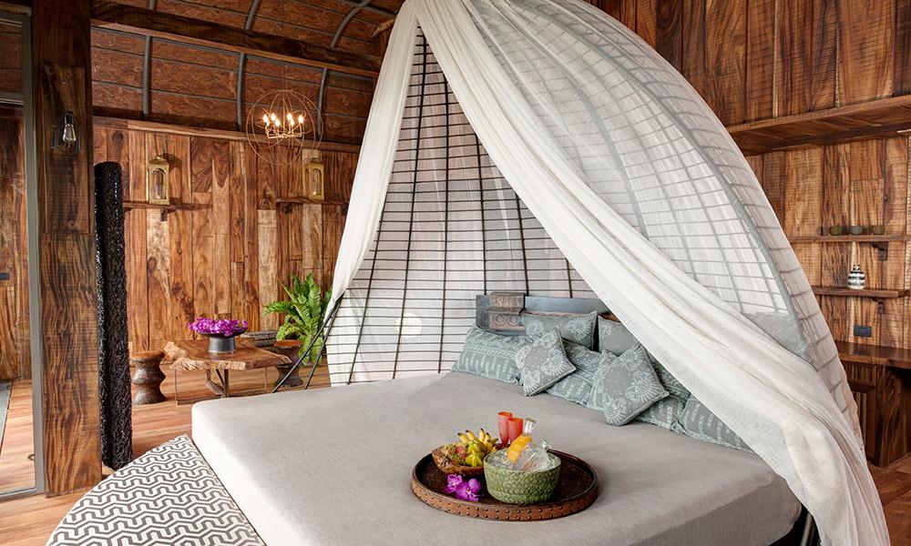 Interior of a Bird's Nest Villa at Keemala, Thailand. Credit: