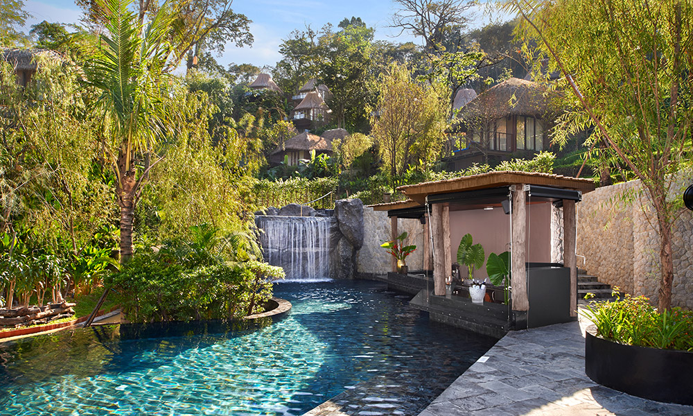 Swimming pool at Keemala, Thailand. Credit: Keemala