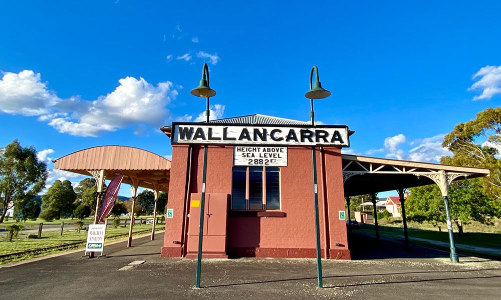 Historic Wallangarra Railway Station, at the border of QLD and NSW. Credit: Chris Ashton
