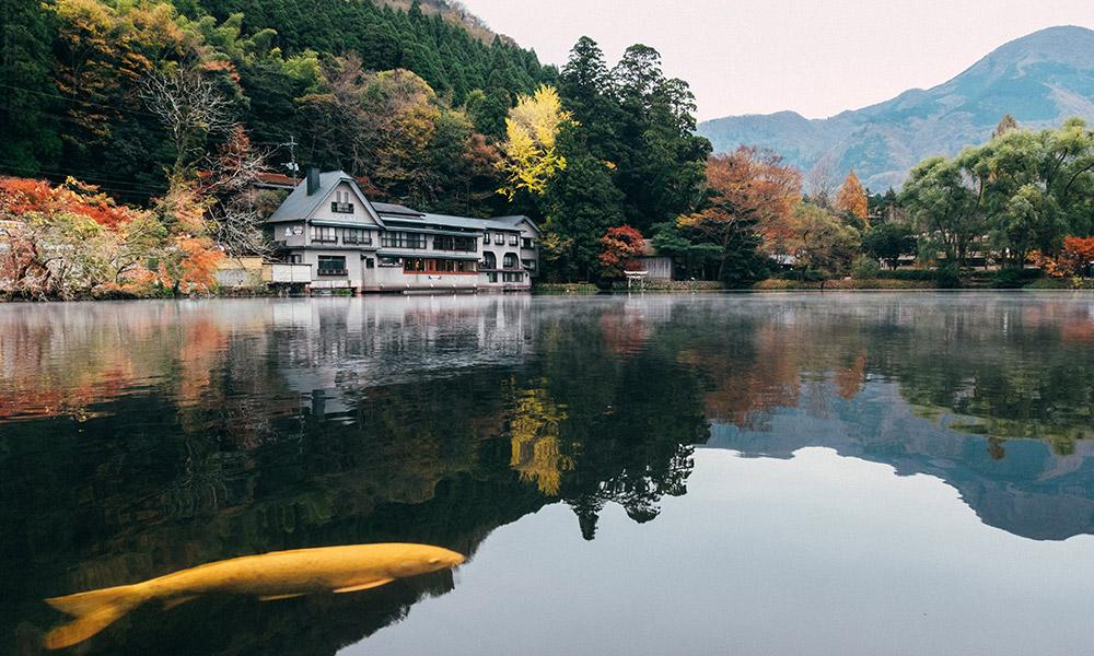 Lake Kinroku, Oita. Credit: Tayawee Supan/Supplied.